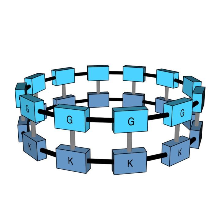 Zyklische kommunikationsstruktur